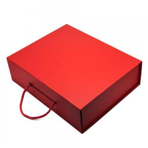 Red Recovery Box with Handle