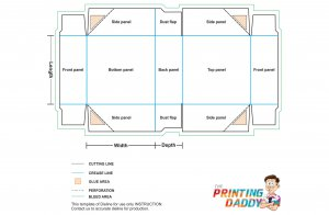 4 Corner Tray With Lid The Printing Daddy
