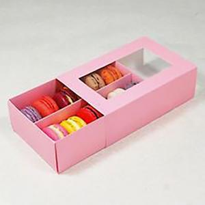 Pink Drawer Style Box with Blister Insert