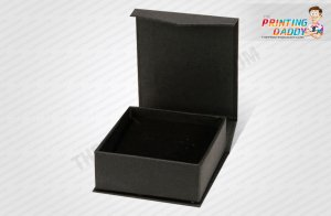 Black Book Style Box with Gold Logo The Printing Daddy