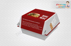 Burger Packaging Boxes The Printing Daddy