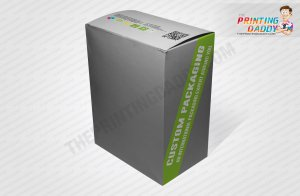 Collapsible Confectionery Box with Blister Insert The Printing Daddy