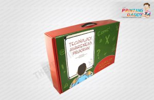 Corrugated Boxes with Plastic Handle The Printing Daddy