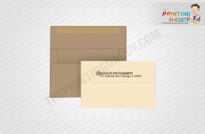 Custom Invitation Envelop With Insert The Printing Daddy