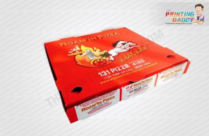 Custom Pizza Boxes The Printing Daddy