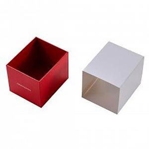 Red Body Butter Box with Plastic Cover