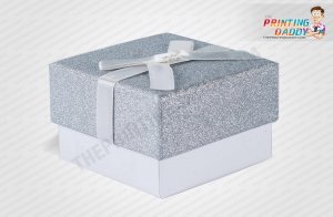 Glitter Lid & Tray Gift Boxes The Printing Daddy