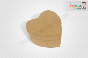 Heart Shaped Box with Red Heart Layer The Printing Daddy
