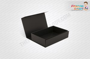 Magnetic Black & White Box with Inside Print The Printing Daddy