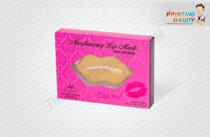 Moisturising Lip Mask Packaging Boxes The Printing Daddy