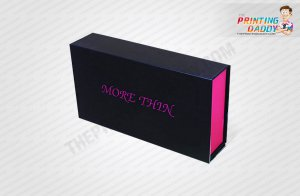 Pink Drawer Style Box with Blister Insert The Printing Daddy