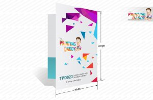 Pocket Folder With Business Card Slit The Printing Daddy