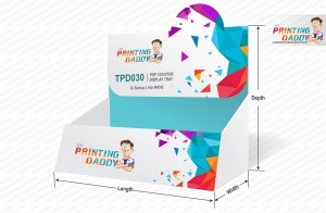 Pop Counter Display Tray The Printing Daddy