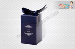 Purple Scent Box with Ribbon Closure The Printing Daddy