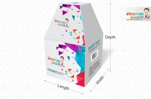 Square Box With Ladder Top The Printing Daddy