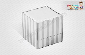 Thin Hinged Rigid Box with Inside Print The Printing Daddy
