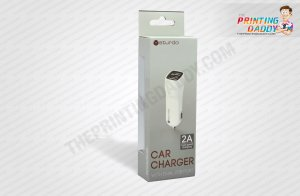 USB Car Charger Packaging Boxes The Printing Daddy
