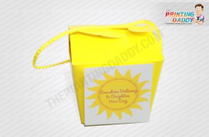 Yellow Takeout Box The Printing Daddy