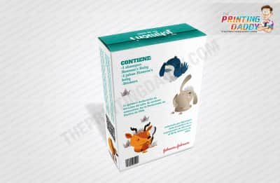 Baby Product Packaging Boxes with Hanger Tab The Printing Daddy