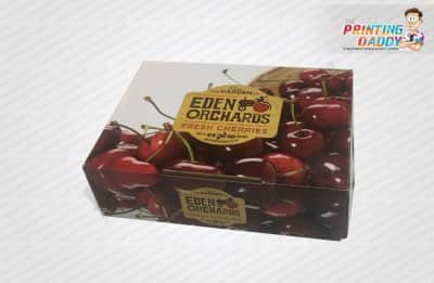Cherries Lid & Tray Packaging Boxes The Printing Daddy