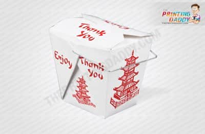 Chinese Food Takeout Box The Printing Daddy