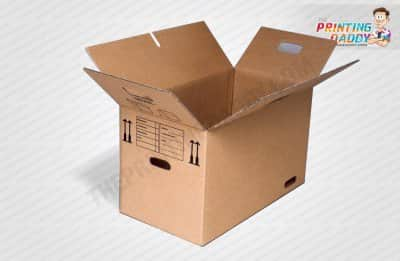 Corrugated Box with Double Lid Locks The Printing Daddy