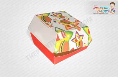Corrugated Burger Boxes with Window The Printing Daddy