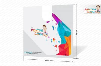 Economy Disc Folder The Printing Daddy