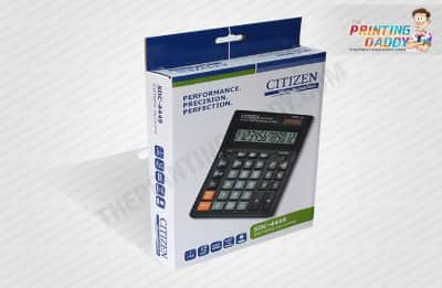 Electronic Calculator Packaging Boxes The Printing Daddy