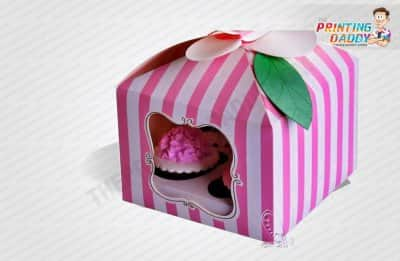 Flip Top Cake Boxes with Window The Printing Daddy