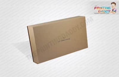 Foldable Metallic Paper Wine Boxes The Printing Daddy