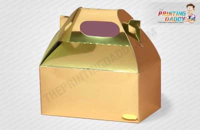 Gold Foil Mascara Box The Printing Daddy