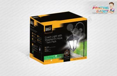 Outdoor Wall Lantern Packaging Boxes The Printing Daddy