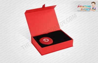Red Body Butter Box with Plastic Cover The Printing Daddy