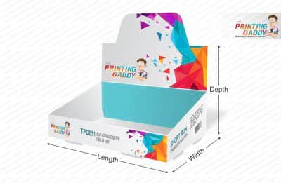 Self Lock Counter Display Tray The Printing Daddy