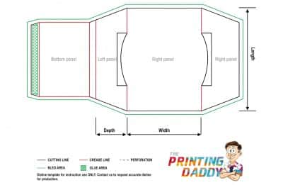 Sleeve With Cap Lock The Printing Daddy
