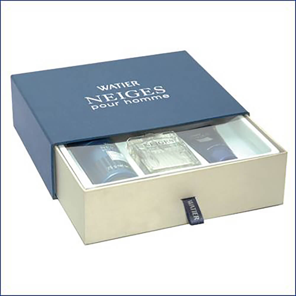 Slide Drawer Cosmetic Packaging Boxes