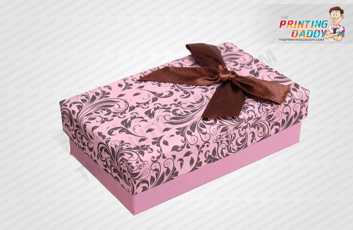 Boxes with Ribbon Flower The Printing Daddy
