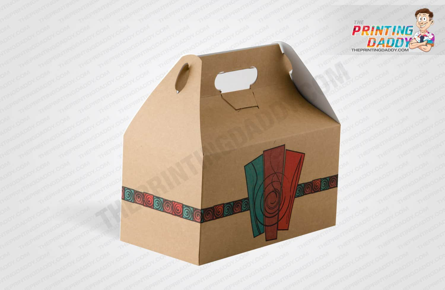 Brown Takeout Box The Printing Daddy