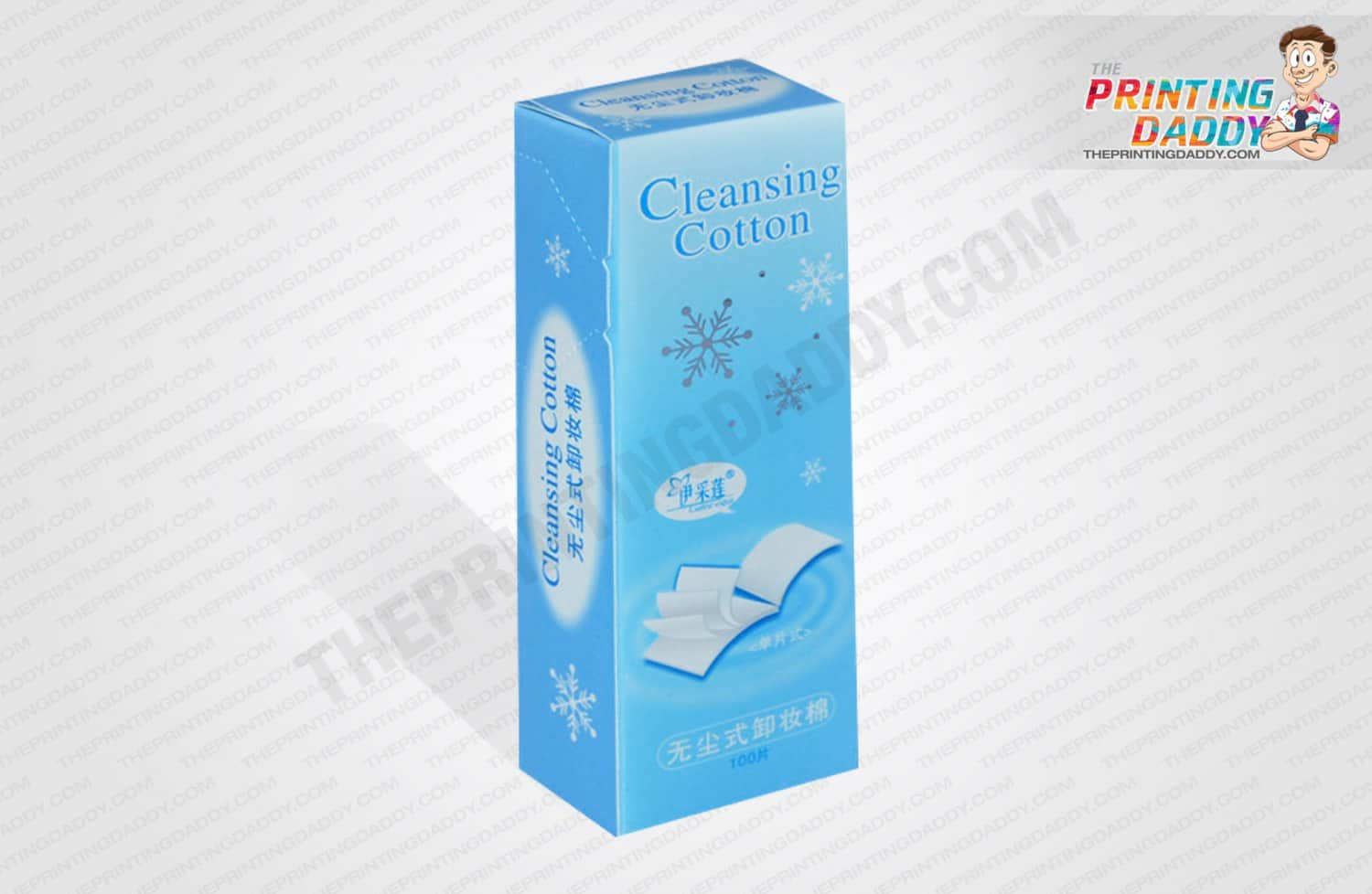 Cleansing Cotton Packaging Boxes The Printing Daddy