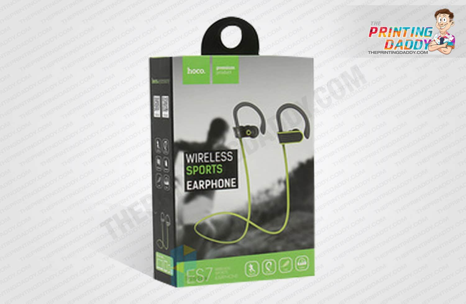Earphone Box with Magnetic Closure The Printing Daddy