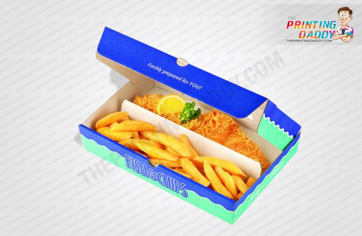 Fish & Chips Packaging Boxes The Printing Daddy