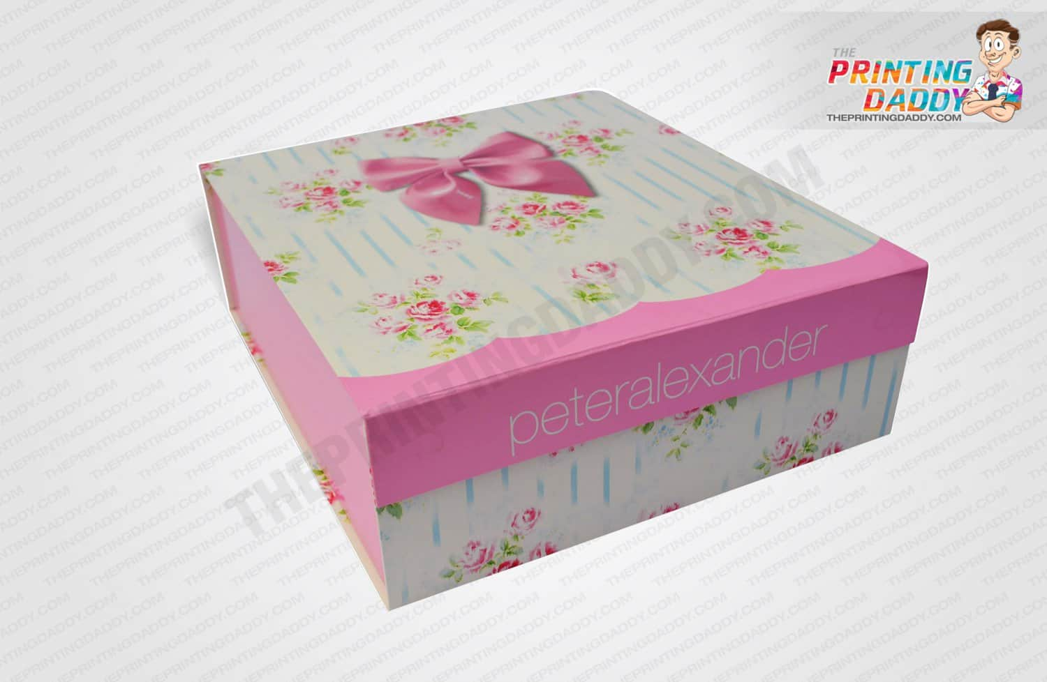 Floral Print Pillow Box The Printing Daddy