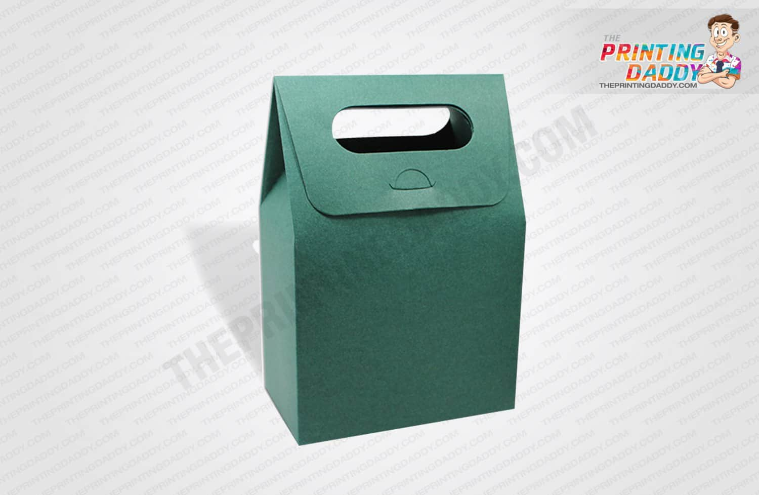 Kraft Box with Twisted Paper Handle The Printing Daddy