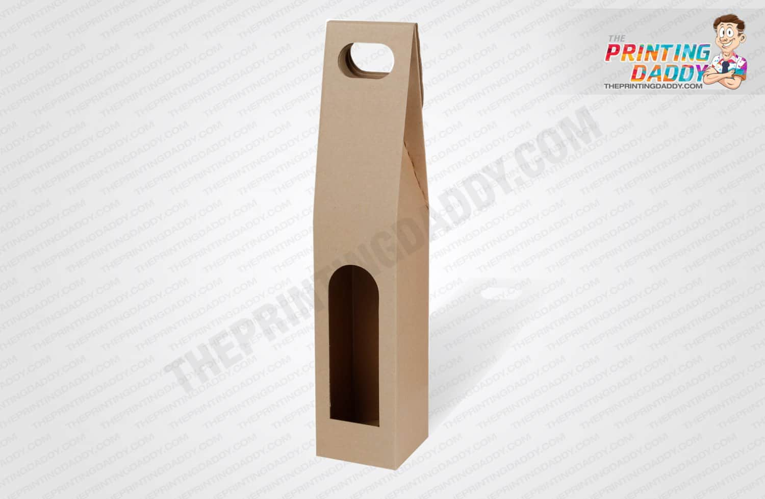 Kraft Hanger Boxes with PET Window The Printing Daddy