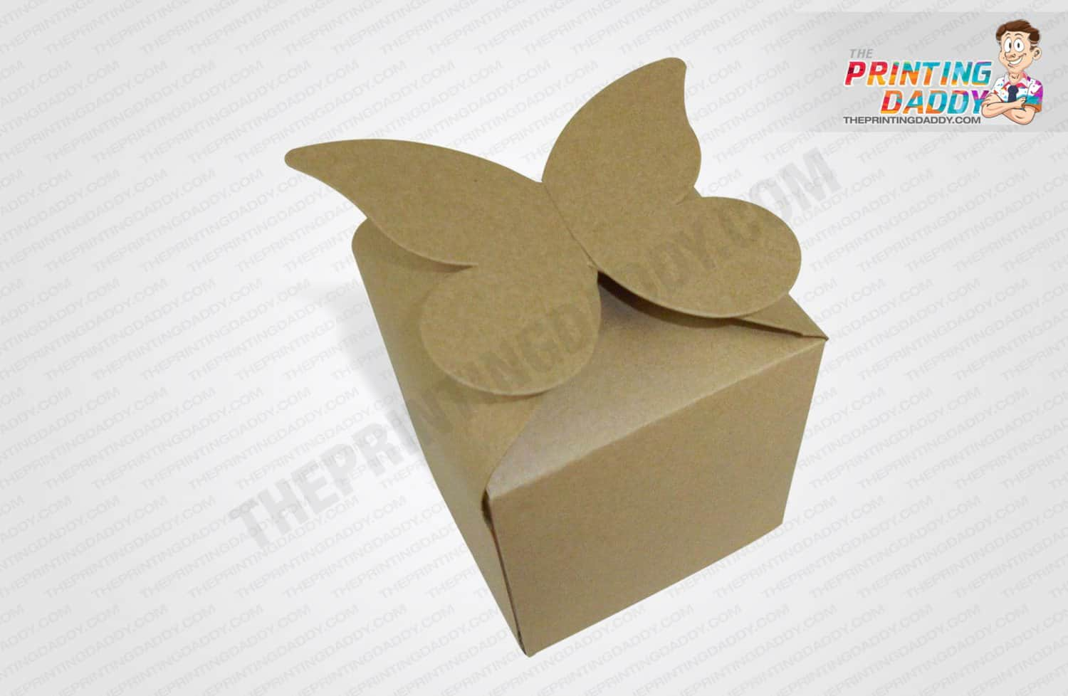 Kraft Tea Boxes with Petal Top The Printing Daddy
