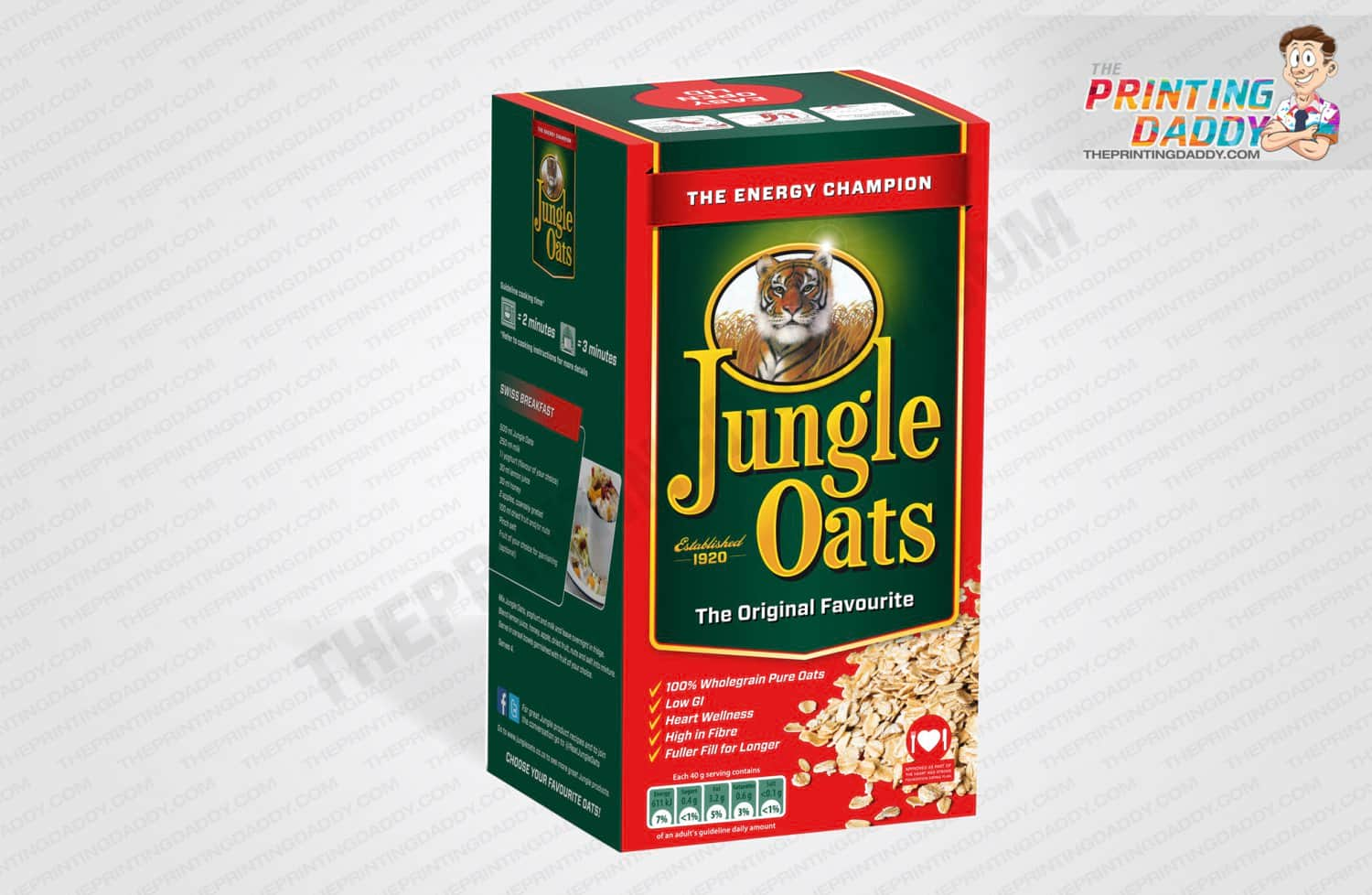 Oat Flakes Packaging Boxes The Printing Daddy