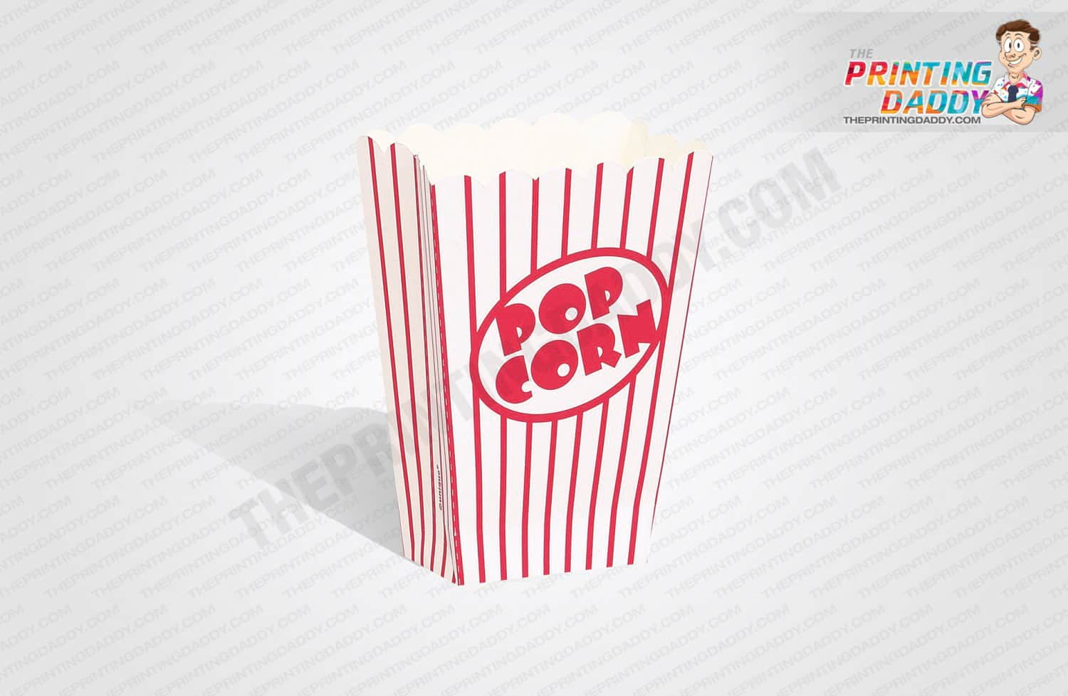 Printed Popcorn Container The Printing Daddy
