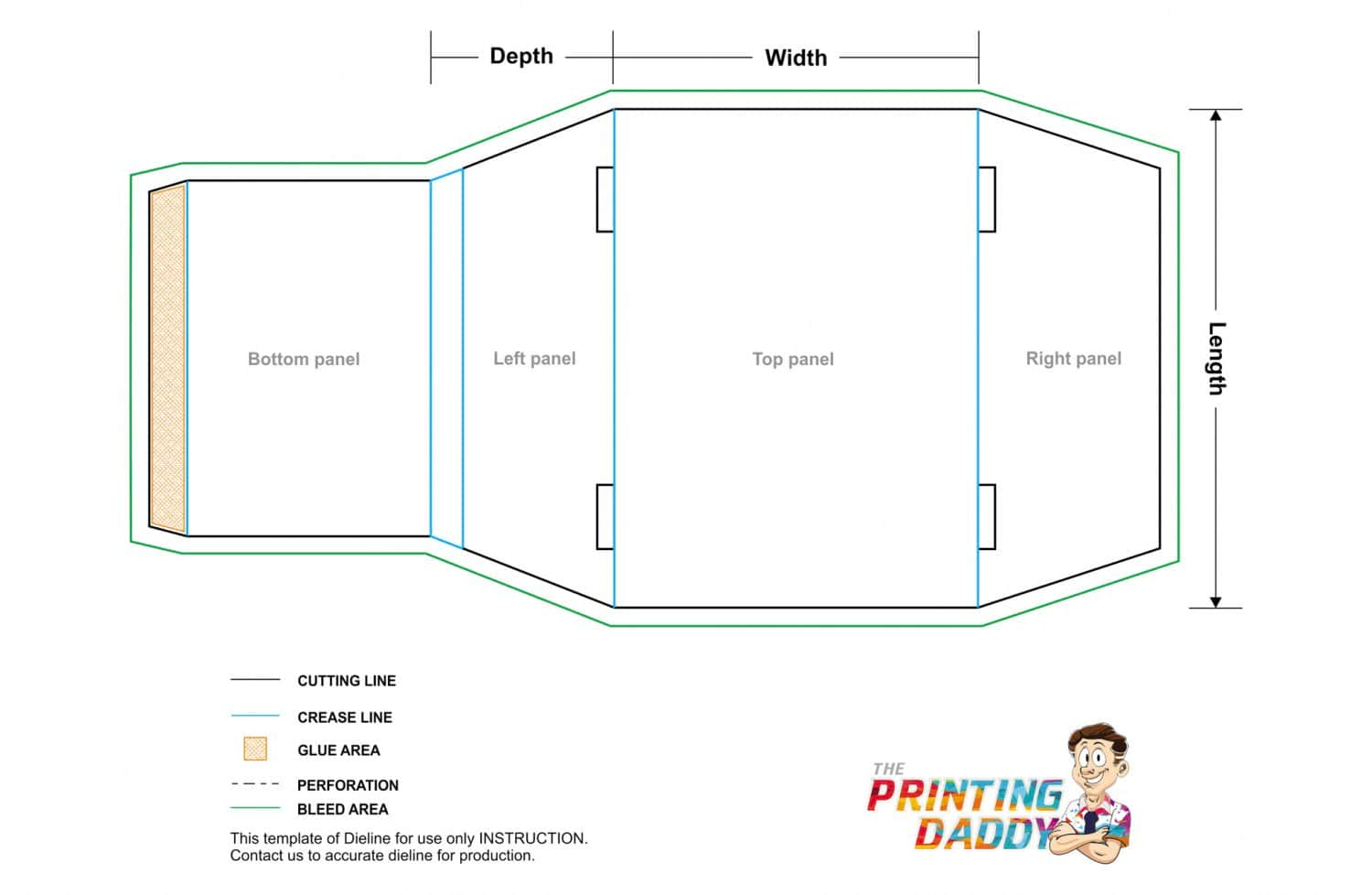 Sleeve With Tapered Side Panel The Printing Daddy