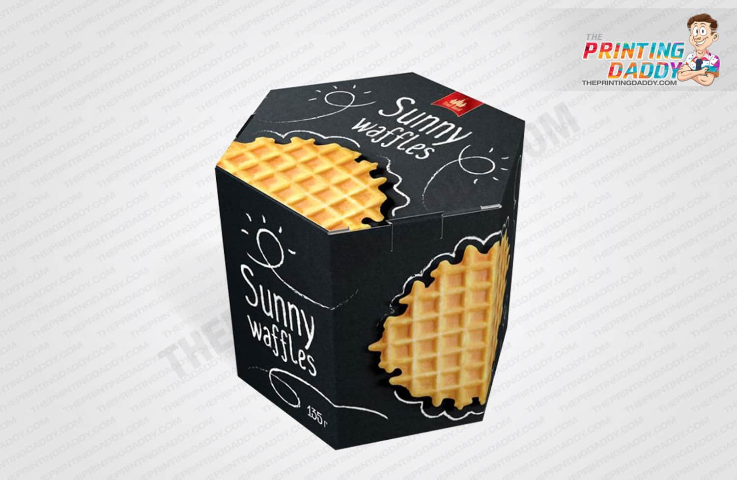 Waffles Packaging Boxes The Printing Daddy